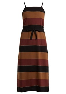 A.P.C. Jude striped jersey dress