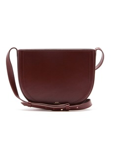 A.P.C. Juliette cross-body leather bag