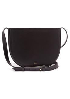 A.P.C. Juliette cross-body leather bag
