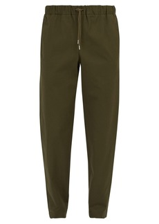 A.P.C. Kaplan stretch-cotton trousers