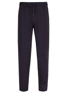 A.P.C. Kaplan wool-blend flannel trousers