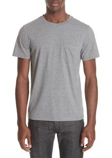 A.P.C. Keanu Striped Pocket T-Shirt