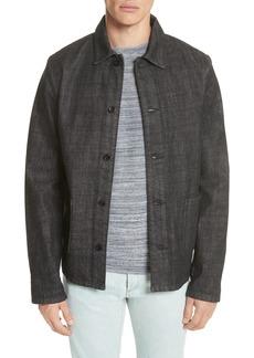 A.P.C. Kerlouan Denim Shirt Jacket
