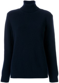 A.P.C. knitted roll-neck sweater - Blue