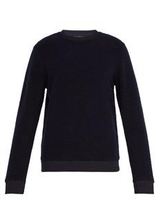A.P.C. Lane wool-blend fleece sweatshirt