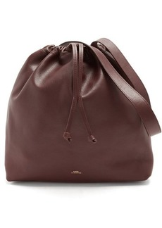 A.P.C. Lena leather shoulder bag