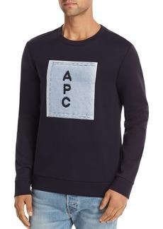 A.P.C. Logo Graphic Sweatshirt