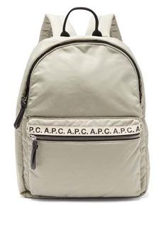 A.P.C. Logo-print backpack