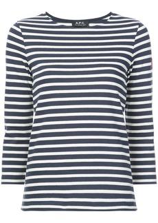 A.P.C. long-sleeve T-shirt - Blue
