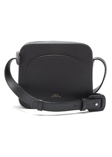A.P.C. Louisette leather shoulder bag