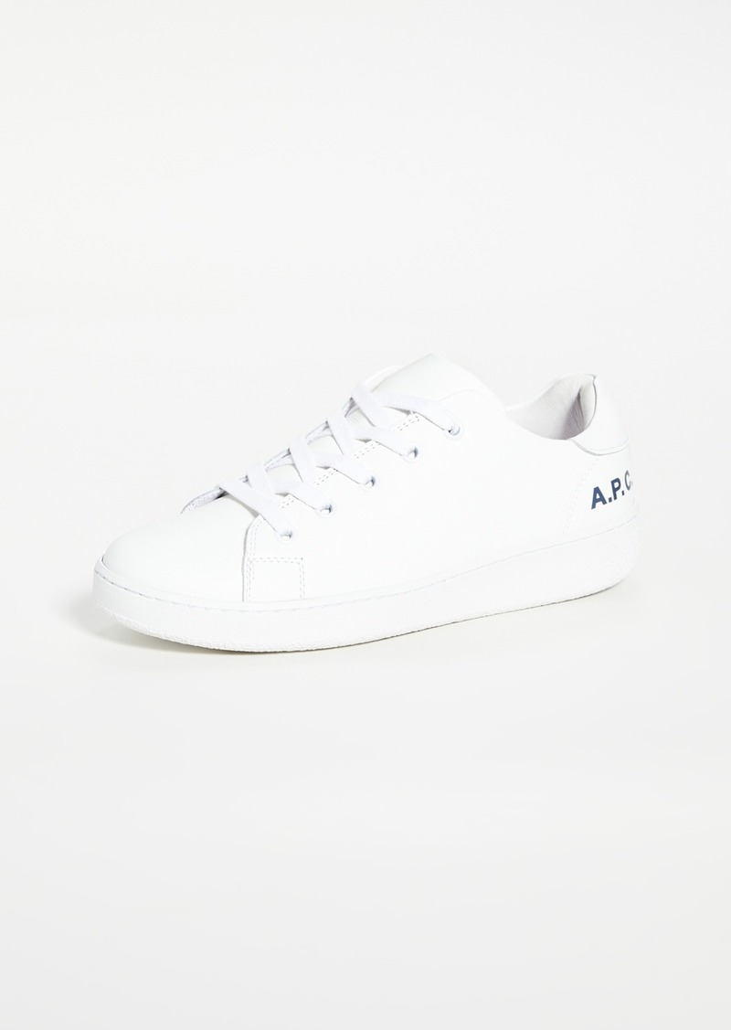 A.P.C. Low Top Sneakers
