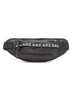 A.P.C. Lucille logo-trim belt bag