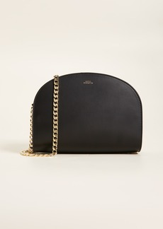 A.P.C. Luna Half Moon Bag