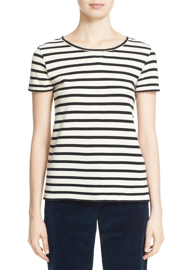 A.P.C. 'Lynn' Stripe Knit Cotton Top
