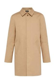A.P.C. Mac Ville trench coat