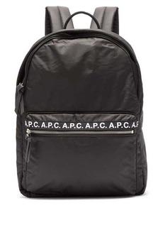 A.P.C. Marc logo-print backpack