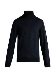 A.P.C. Marcelino merino wool roll-neck sweater
