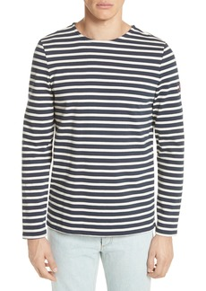 A.P.C. Marinière Matt Stripe Long Sleeve T-Shirt