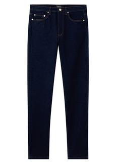 A.P.C. Middle Standard Slim Fit Jeans (Indigo Délavé)