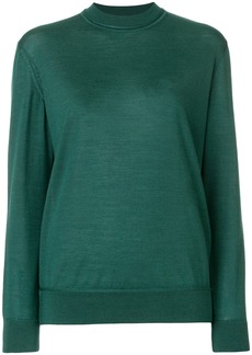 A.P.C. mock neck jumper - Green