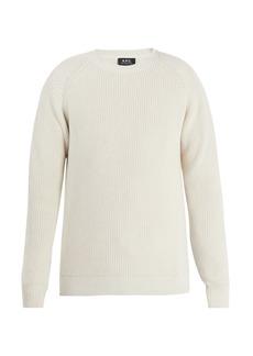 A.P.C. Moniteur cotton sweater