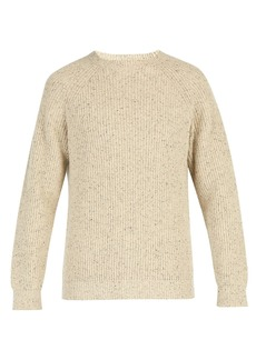 A.P.C. Mottled knit sweater