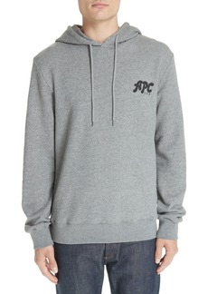 A.P.C. New Logo Graphic Hoodie