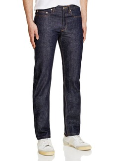 A.P.C. New Standard Straight Fit Jeans in Indigo