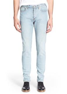 A.P.C. New Standard Slim Straight Leg Jeans (Indigo Délavé)