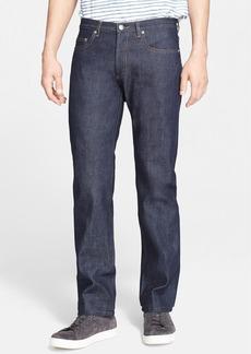 A.P.C. New Standard Slim Straight Leg Raw Selvedge Jeans (Dark Indigo)