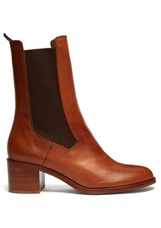 A.P.C. Nicole leather chelsea boots