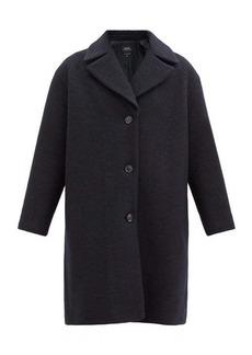 A.P.C. Ninh single-breasted wool-bouclé coat