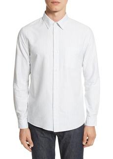 A.P.C. Oliver Stripe Oxford Shirt