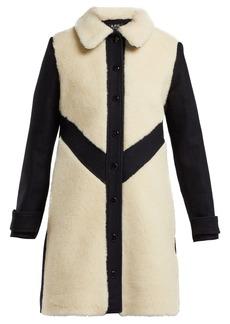 A.P.C. Ollie wool-blend coat