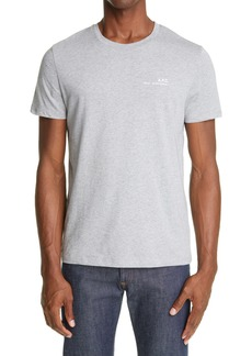 A.P.C. Organic Cotton Crewneck T-Shirt