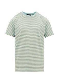 A.P.C. Orson striped cotton-jersey T-shirt