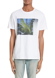 A.P.C. Palm Tree Graphic T-Shirt