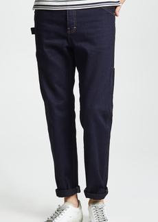 A.P.C. Job Trousers in Indigo