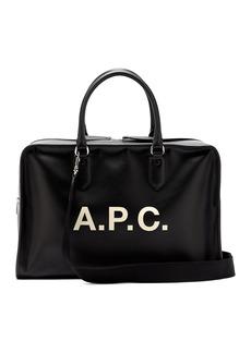 A.P.C. Paul logo-print holdall