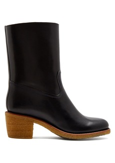 A.P.C. Paz block-heel leather boots