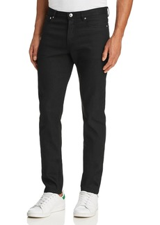 A.P.C. Petit New Standard Slim Fit Jeans in Black