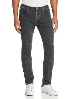 A.P.C. Petit New Standard Slim Fit Jeans in Washed Black