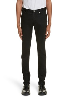 A.P.C. Petit New Standard Stretch Skinny Fit Jeans (Overdyed Black)