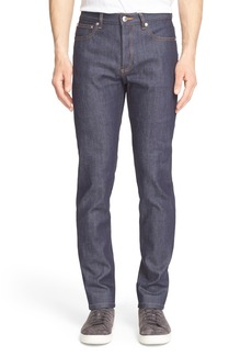 A.P.C. Petite New Standard Skinny Fit Jeans (Dark Indigo)