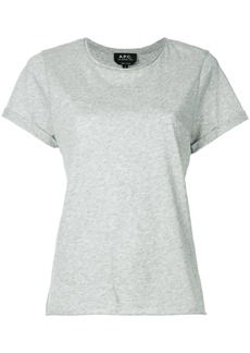 A.P.C. plain T-shirt - Grey