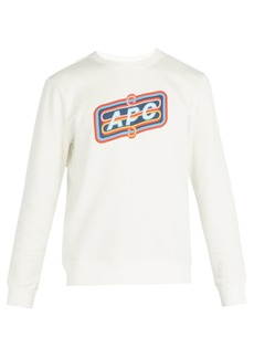 A.P.C. Psy logo-print cotton sweatshirt