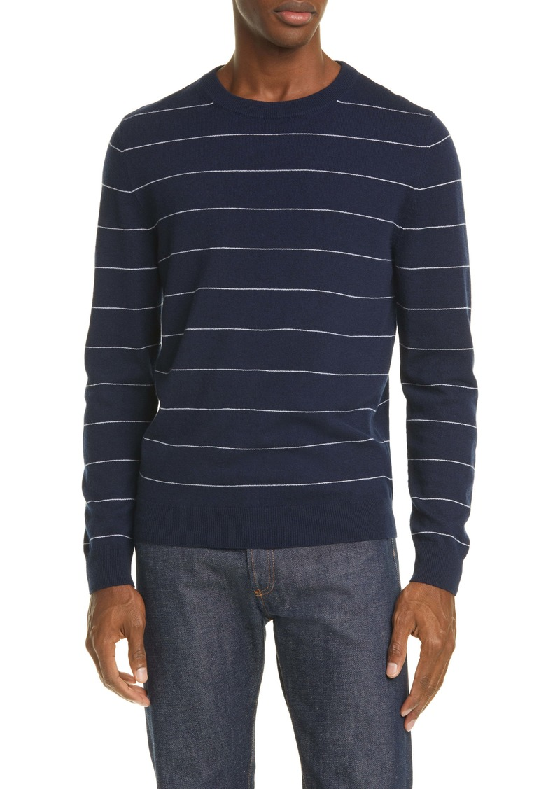 A.P.C. Pull Ambrose Stripe Cashmere Sweater