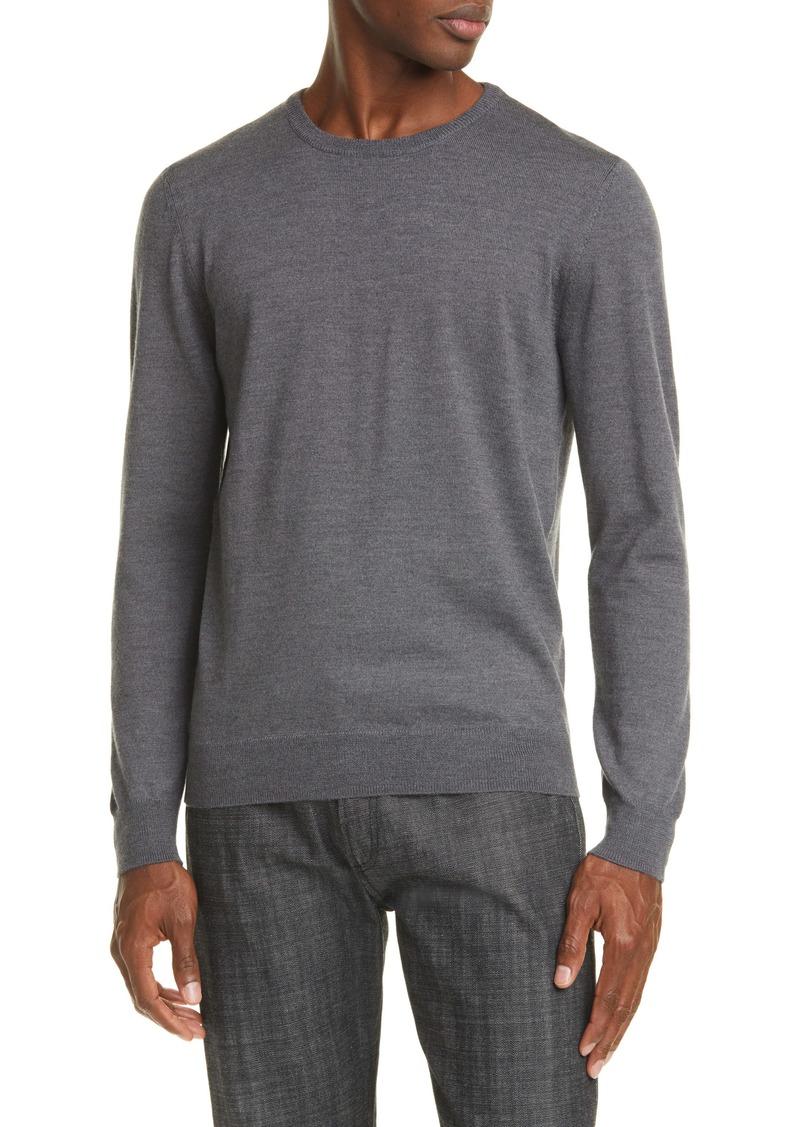 A.P.C. Pull King Merino Wool Crewneck Sweater