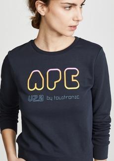 A.P.C. Rainbow Sweatshirt