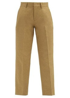 A.P.C. Raphaelle cropped cotton-blend gabardine trousers